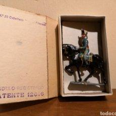 Juguetes Antiguos: SOLDADO DE PLOMO HUSAR PRINCESA CASTRESANA. Lote 156917229