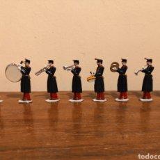 Juguetes Antiguos: SOLDADOS DE PLOMO. BANDA DE MUSICA. Lote 156917429