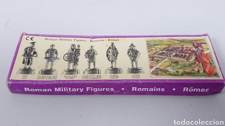 CAJA DE SOLDADOS ROMANOS WINTER DE METAL CENTURION, LEGIONARIO, GLADIADOR (Juguetes - Soldaditos - Soldaditos de plomo)