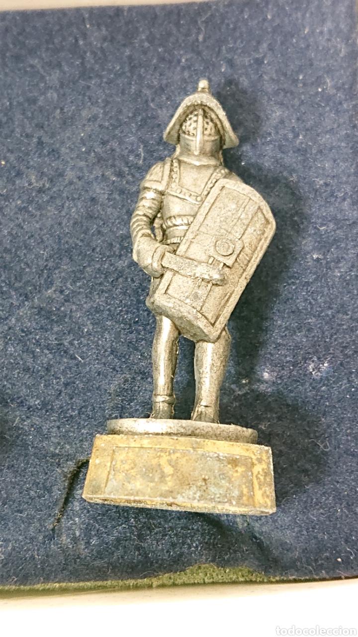 Juguetes Antiguos: Caja de soldados Romanos Winter de metal centurion, legionario, gladiador - Foto 8 - 158173052