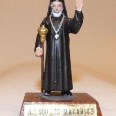 Juguetes Antiguos: SOLDADO DE PLOMO. MAKARIOS, DIGNATARIO GRECO-CHIPRIOTA.. Lote 151530462