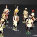 Juguetes Antiguos: SOLDADOS DE PLOMO. MOROS A PIE. ORIGINALES 1900. Lote 159105770