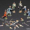 Juguetes Antiguos: SOLDADOS DE PLOMO. LOTE SOLDADOS Y ACCESORIOS. ORIGINALES 1900. Lote 159108966