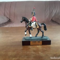 Juguetes Antiguos: CAZADOR CABALLO DE LA GUARDIA FRANCIA 1806 MINIATURAS ALMIRALL. Lote 162380925