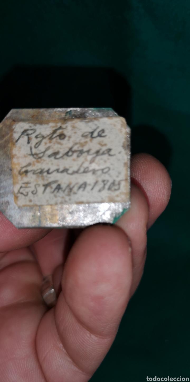 Juguetes Antiguos: Soldado de plomo pintada artesanalmente regimiento de Saboya granadero 1805 RAMON LABAYEN - Foto 5 - 160359800