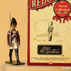 Juguetes Antiguos: FOOD GUARD GRENADIER BRITISH 1775 EN ESCALA 1:32 ,(FMR) DE LA CASA BRITAINS.. Lote 160367658