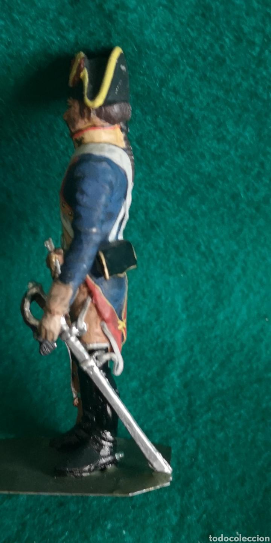 Juguetes Antiguos: Soldado de plomo pintados artesanalmente soldado caballería RAMON LABAYEN - Foto 2 - 160448364
