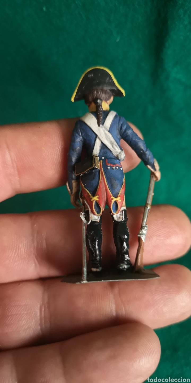 Juguetes Antiguos: Soldado de plomo pintados artesanalmente soldado caballería RAMON LABAYEN - Foto 3 - 160448364