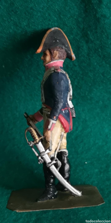 Juguetes Antiguos: Soldado de plomo pintada artesanalmente caballería de línea del Regimiento infantería 1808 RAMON LAB - Foto 2 - 160448992