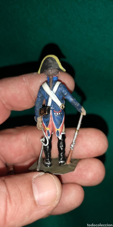 Juguetes Antiguos: soldado de plomo pintados artesanalmente 1803 regimiento del príncipe RAMON LABAYEN - Foto 3 - 160504732