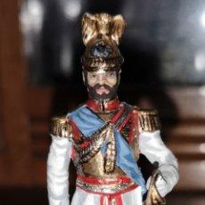 Juguetes Antiguos: SOLDADO PLOMO REPRESENTANDO AL ZAR NICOLÁS SEGUNDO PROBABLEMENTE LABAYEN. Lote 161236920