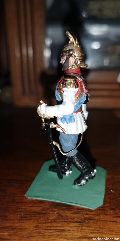 Juguetes Antiguos: Soldado plomo representando al zar Nicolás segundo probablemente Labayen - Foto 2 - 161236920