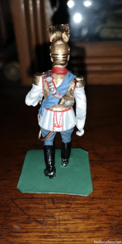 Juguetes Antiguos: Soldado plomo representando al zar Nicolás segundo probablemente Labayen - Foto 3 - 161236920