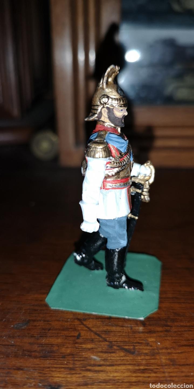 Juguetes Antiguos: Soldado plomo representando al zar Nicolás segundo probablemente Labayen - Foto 4 - 161236920