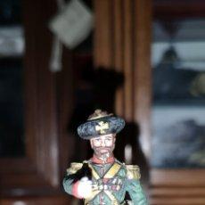 Juguetes Antiguos: SOLDADO DE PLOMO PINTADA ARTESANALMENTE REPRESENTANDO COSACO RUSO. Lote 161237721
