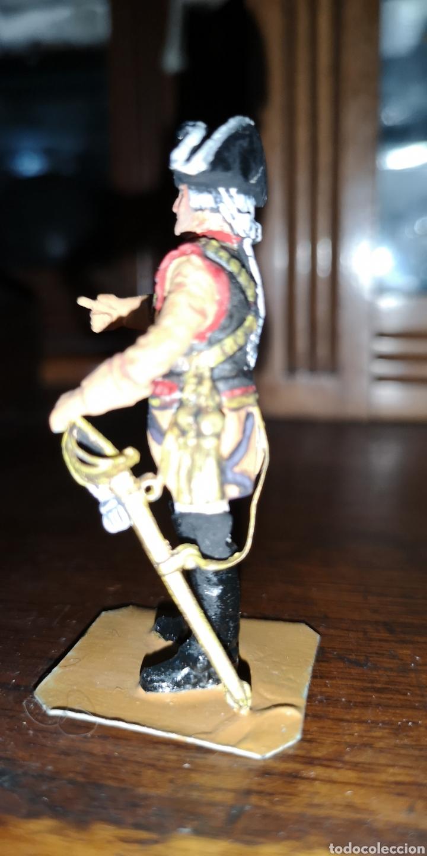 Juguetes Antiguos: Soldado de plomo representando al general - Foto 2 - 161237881