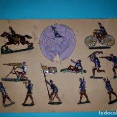 Juguetes Antiguos: BATALLON EJERCITO REPUBLICANO EN PLOMO, DE CASANELLAS (TIPO EULOGIO, CAPELL) AÑOS 30/40.. Lote 162284786