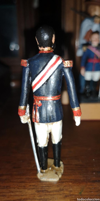 Juguetes Antiguos: Antiguo soldado de plomo probablemente representando Alfonso XII - Foto 3 - 163406445