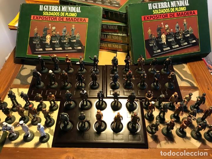 LOTE 60 SOLDADOS DE PLOMO 2A GUERRA MUNDIAL (Juguetes - Soldaditos - Soldaditos de plomo)