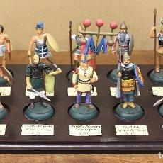 Juguetes Antiguos: LOTE DE 10 SOLDADOS DE PLOMO. PALESTINA - ROMA - EGIPTO - ESPARTA - PALMIRA - BIZANCIO.... Lote 205106206