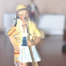 Juguetes Antiguos: SOLDADO DE PLOMO PINTADA ARTESANALMENTE GUERRILLERO VALENCIANO 1808. Lote 165492341