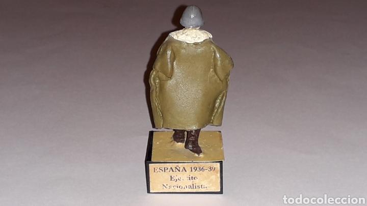Juguetes Antiguos: Soldado alemán Legión Condor, Ejército Nacionalista Guerra Civil 1936-1939, plomo Almirall, años 60. - Foto 3 - 165800682