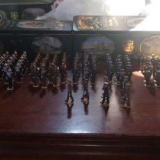 Juguetes Antiguos: 142 SOLDADOS DE PLOMO PINTADOS ARTESANALMENT, PARADA MILITAR PLAZA DE LA ARMERIA,TOMA DE POSESIÓN DE. Lote 165819641