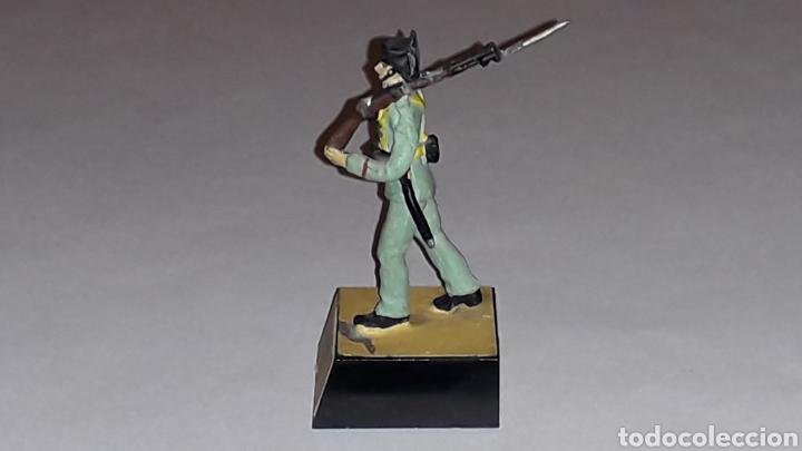 Juguetes Antiguos: Guardia Civil, Ejército Nacionalista Guerra Civil 1936-1939, plomo Almirall made in Spain, años 60. - Foto 4 - 165904446