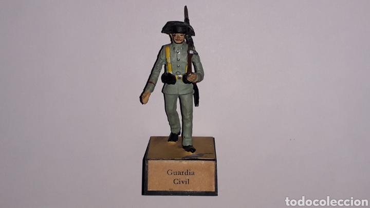 Juguetes Antiguos: Guardia Civil, Ejército Nacionalista Guerra Civil 1936-1939, plomo Almirall made in Spain, años 60. - Foto 8 - 165904446