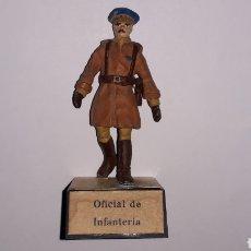 Juguetes Antiguos: OFICIAL DE INFANTERÍA, EJÉRCITO NACIONALISTA GUERRA CIVIL 1936-1939, PLOMO ALMIRALL SPAIN, AÑOS 60.. Lote 165904690