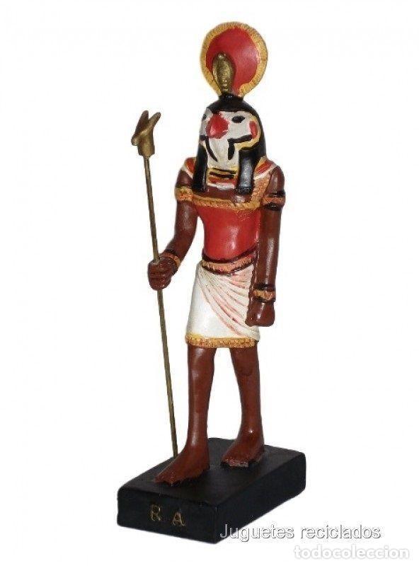 SATET Figura Dios Antiguo Egipto 10-15 cms Resina FARAON EGIPCIO