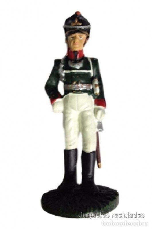 Oficial suboficial SOL003 Afrikakorps Alemania Figura soldado plomo DelPrado