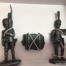 Juguetes Antiguos: 7426 006 GRANADEROS GRAND ARMEE NAPOLEON FIGURA SOLDADO DE PLOMO ATLAS. Lote 178238215
