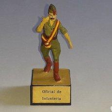 Juguetes Antiguos: OFICIAL LEGIONARIO INFANTERÍA EJÉRCITO NACIONALISTA GUERRA CIVIL 1936-1939, PLOMO ALMIRALL, AÑOS 60.. Lote 165966254