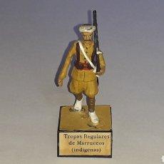 Juguetes Antiguos: TROPAS REGULARES MARRUECOS, EJÉRCITO NACIONALISTA GUERRA CIVIL 1936-1939, PLOMO ALMIRALL, AÑOS 60.. Lote 165969866