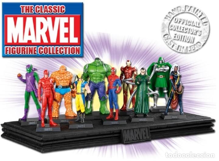 Juguetes Antiguos: Encantadora Enchantress Figura de plomo Marvel Classic figurine Collection - Foto 2 - 210389728