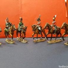Juguetes Antiguos: LOTE DE 6 SOLDADOS A CABALLO DE 'EL PRADO'.. Lote 167508865