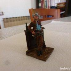 Juguetes Antiguos: SHERIFF EN EL SALÓN-ESCALA 1/35(54MM)-METAL FIGURE PAINTED . Lote 167538448