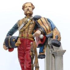 Juguetes Antiguos: LORD CARDIGAN. FIGURA EN PLOMO, 90 MM. PINTADO A MANO EN ALTA CALIDAD.. Lote 168166476
