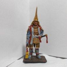 Juguetes Antiguos: 105 - GUERRERO MITICO JAPONES EN PLOMO - MAEDA TOSHIIE -1538-1599.. Lote 168493112