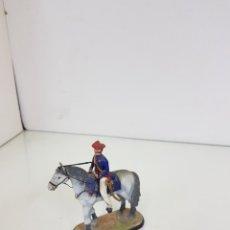 Juguetes Antiguos - Mundial Spain Zumalacárregui 1834 soldado de plomo a caballo español - 168824230