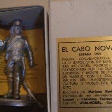 Juguetes Antiguos: SOLDADO DE PLOMO CABO NOVAL ESCULTURA MARIANO BENLLIURE ARM MODEL. Lote 169875984