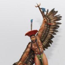 Juguetes Antiguos: DANZA DEL ÁGUILA. FIGURA EN RESINA, 75 MM. PINTADO A MANO EN ALTA CALIDAD.. Lote 170854120