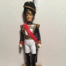 Juguetes Antiguos: SOLDADITOS GRANDES- FRANCE 1810- MARECHAL DAVOUT - 12 CM- PESA 300 GRAMOS -PERFECTO. Lote 171248022