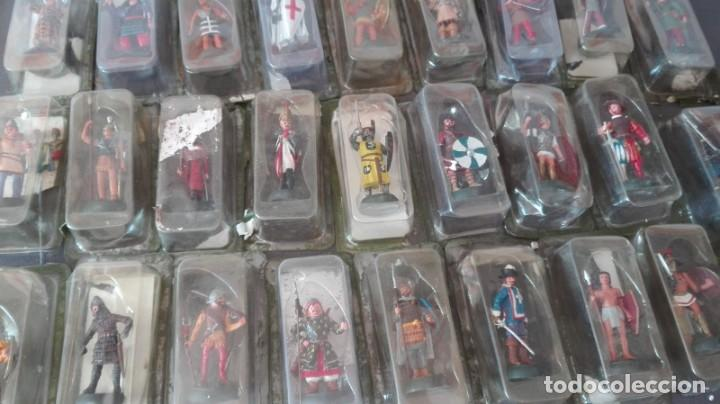Juguetes Antiguos: coleccion guerreros y caballeros de plomo - Foto 4 - 171457245