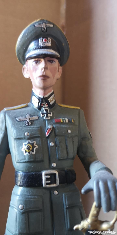 Juguetes Antiguos: Figura de plomo representando oficial de caballería alemana 1940 - Foto 2 - 173894062