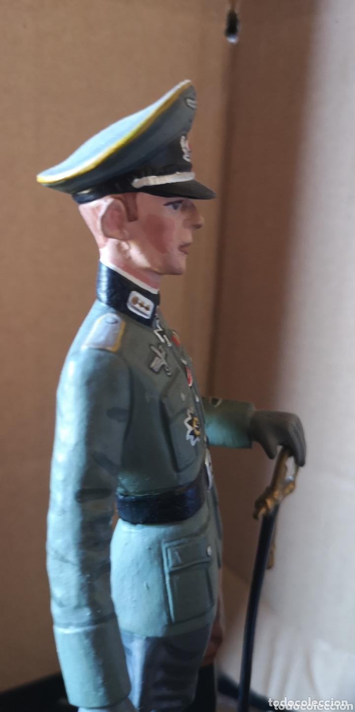 Juguetes Antiguos: Figura de plomo representando oficial de caballería alemana 1940 - Foto 4 - 173894062
