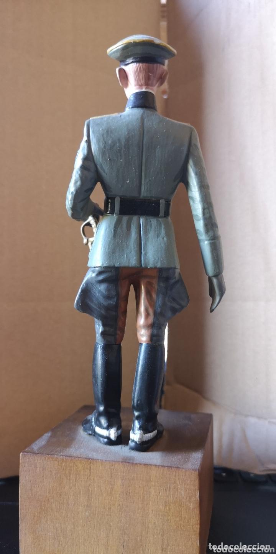 Juguetes Antiguos: Figura de plomo representando oficial de caballería alemana 1940 - Foto 5 - 173894062