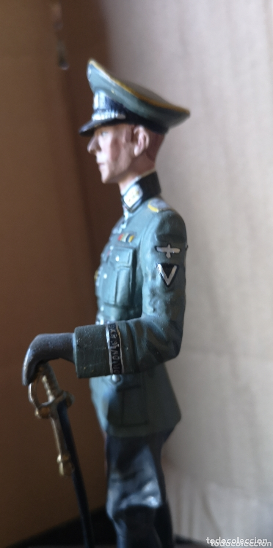 Juguetes Antiguos: Figura de plomo representando oficial de caballería alemana 1940 - Foto 6 - 173894062