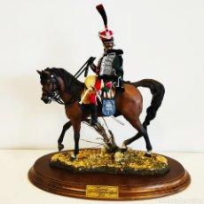 Juguetes Antiguos: FIGURA DE GALEOTE - ESCALA 1/7 - 30 CM - REGIMIENTO Nº 1 GUARDIAS DE HONOR 1813 FRANCIA - MINIATURA. Lote 175143054